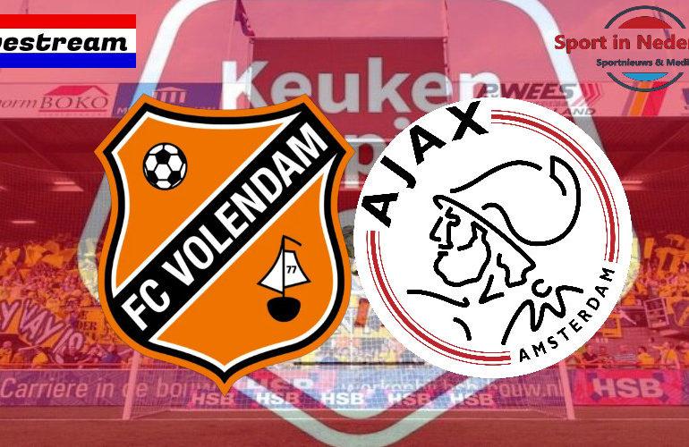 KKD livestream FC Volendam - Jong Ajax