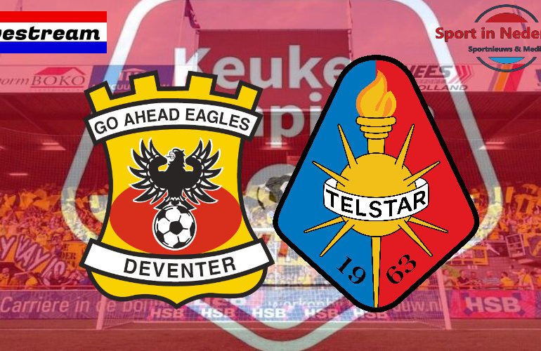KKD livestream Go Ahead Eagles - Telstar