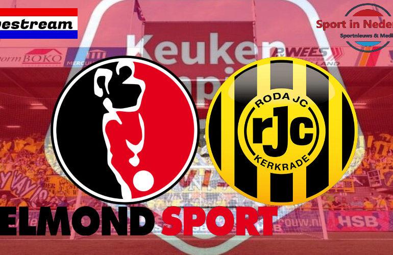 KKD livestream Helmond Sport - Roda JC