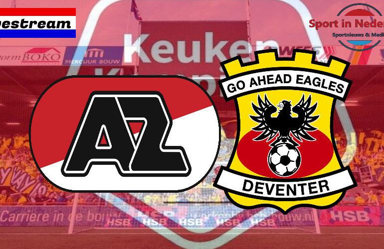 KKD livestream Jong AZ - Go Ahead Eagles