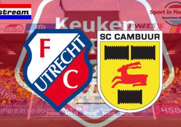 KKD livestream Jong FC Utrecht - SC Cambuur