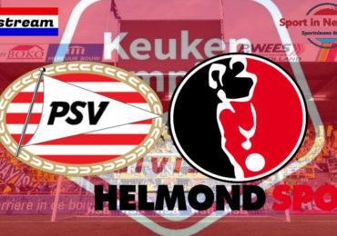 KKD livestream Jong PSV - Helmond Sport