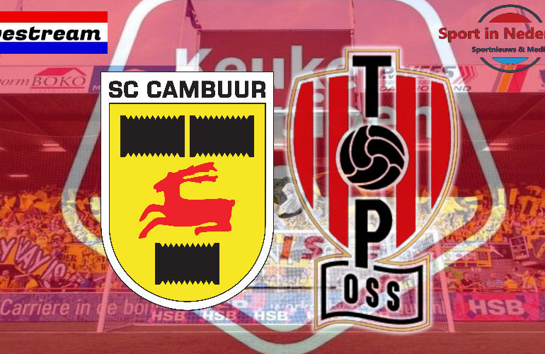 KKD livestream SC Cambuur - TOP Oss
