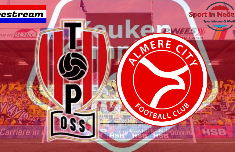 KKD livestream TOP Oss - Almere City FC