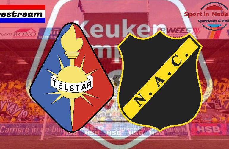 KKD livestream Telstar - NAC Breda