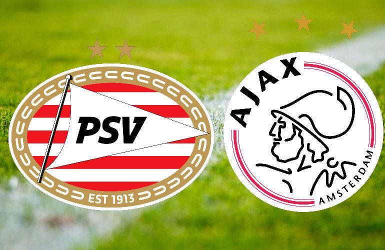 Kijk de topper PSV - Ajax zondag via een livestream