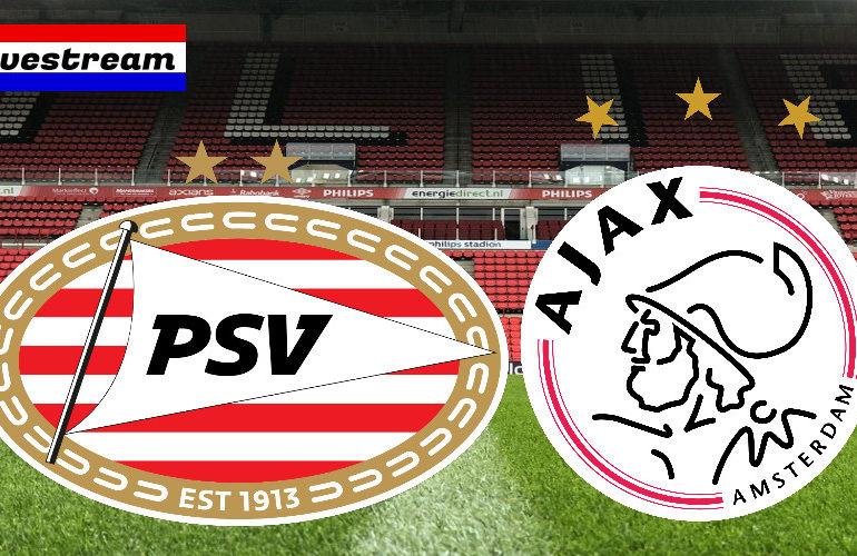Kijk hier vanmiddag via de livestream gratis PSV - Ajax