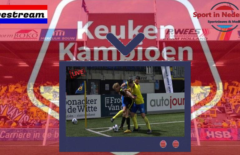 Kijk hier via de livestream gratis KKD (Keuken Kampioen Divisie) voetbal