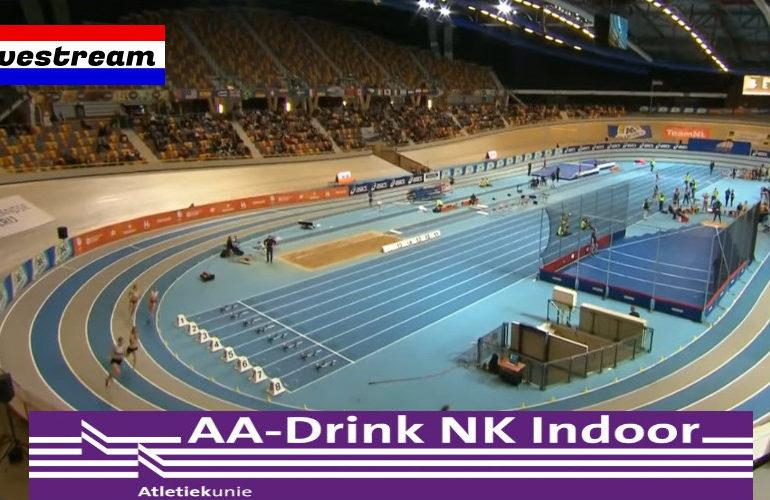 Livestream AA NK Indoor atletiek 2021