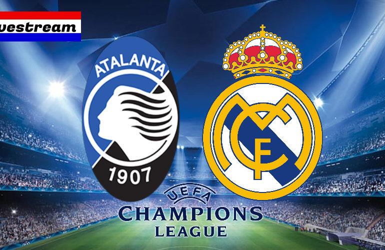 Livestream Atalanta Bergamo - Real Madrid Champions League