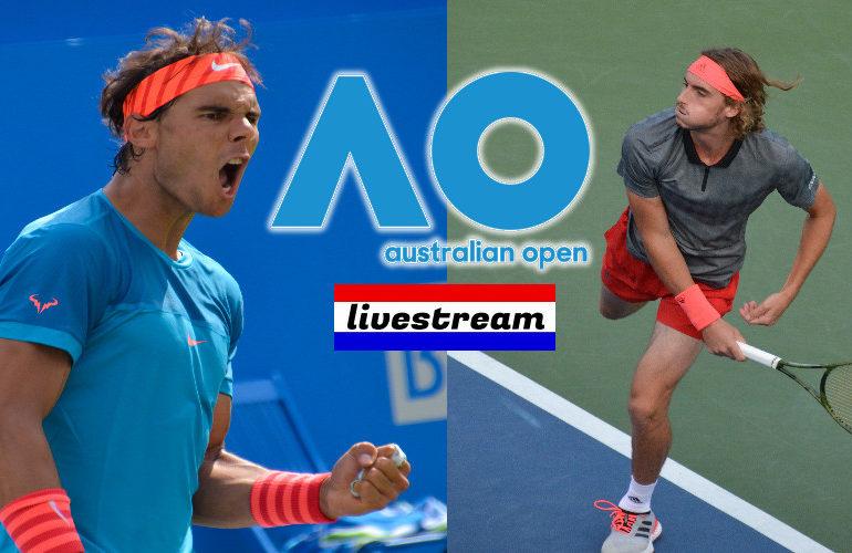 Livestream Australian Open Rafael Nadal vs Stéfanos Tsitsipás