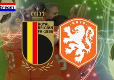 Livestream België - Nederland