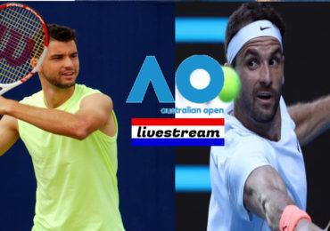 Livestream Grigor Dimitrov - Aslan Karatsev Australian Open