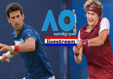 Livestream Novak Djokovic - Alexander Zverev Australian Open