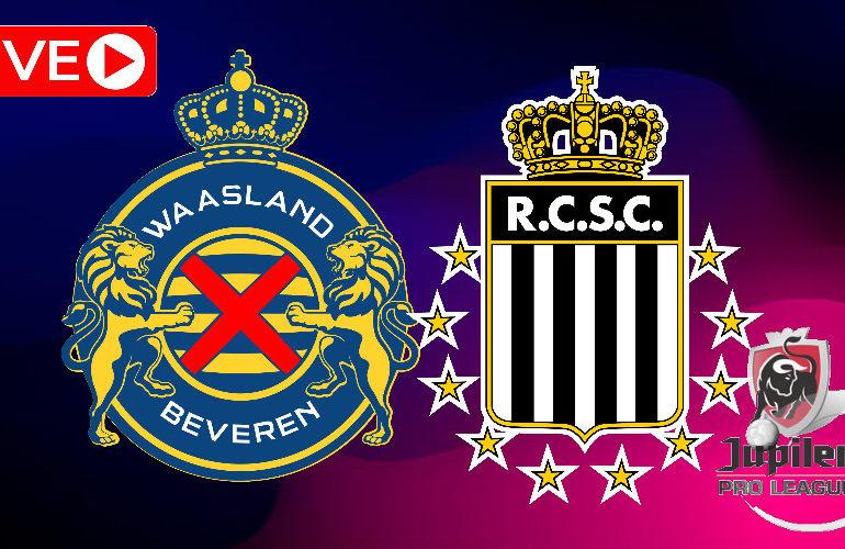Livestream Waasland Beveren - Charleroi (Jupiler Pro League)