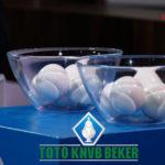Loting halve finale TOTO KNVB Beker
