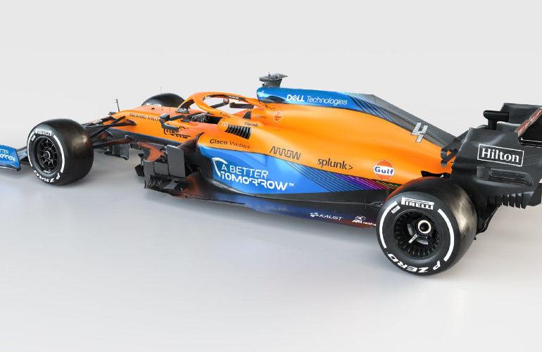 Dit is de McLaren met Mercedes motor voor 2021