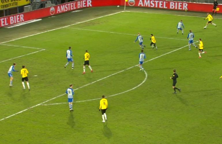 NAC is FC Eindhoven in Breda de baas