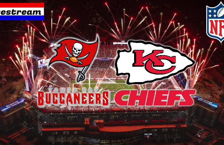 NFL Super Bowl LV livestream Buccaneers vs Chiefs