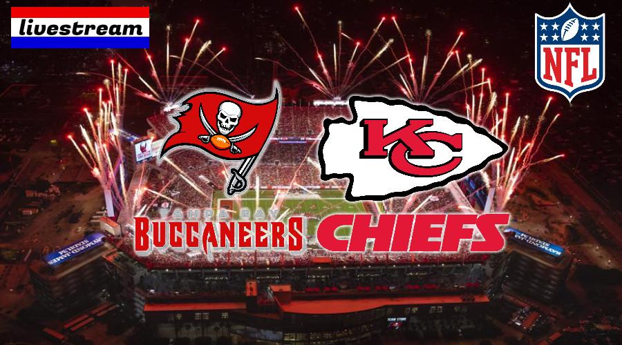 NFL Super Bowl LV livestream Buccaneers vs Chiefs