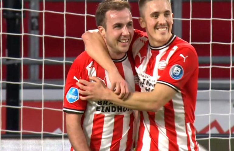 Gotze loodst PSV langs Vitesse