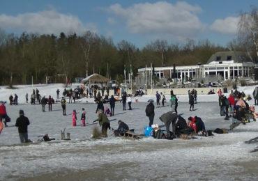 Meerdere regio's waarschuwen: ga van het ijs af