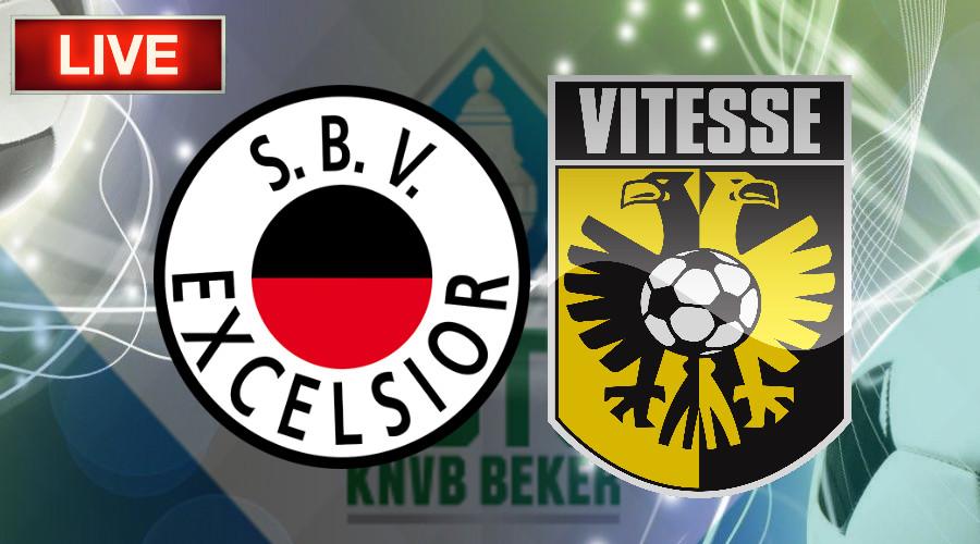 TOTO KNVB Beker livestream Excelsior - Vitesse