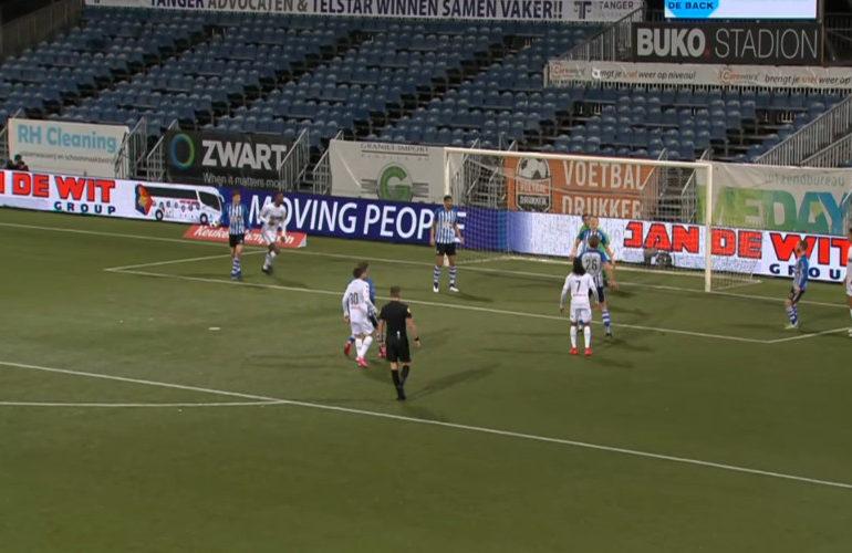 FC Eindhoven pakt een punt tegen Telstar