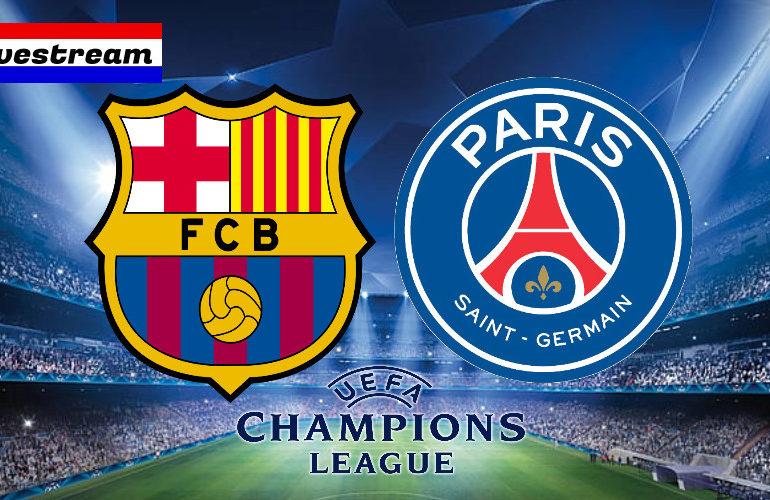 UCL livestream FC Barcelona - PSG (Champions League)