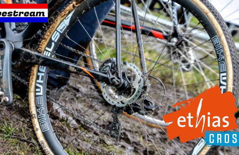Veldrijden livestream Ethias Cross Eeklo 2021