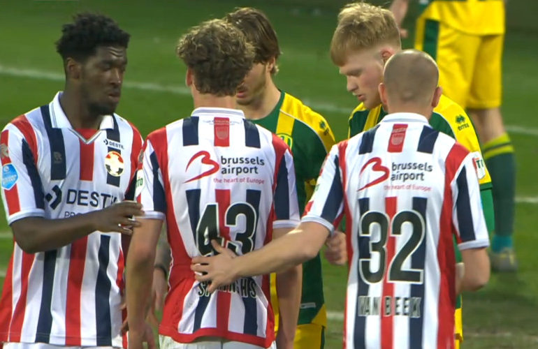 Degradatiekraker Willem II en ADO in evenwicht