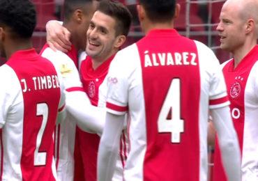 Ajax in Johan Cruijff Arena te sterk voor Groningen