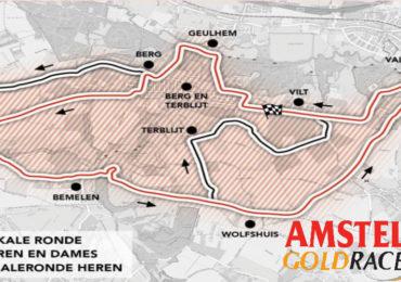 Amstel Gold Race editie 2021 op gesloten parcours