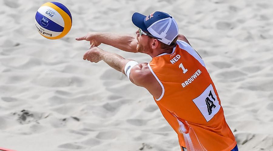 Beachvolleybal Alexander Brouwer (Foto Wikipedia)