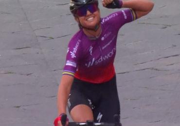 Chantal van de Broek-Blaak wint Strade Bianche