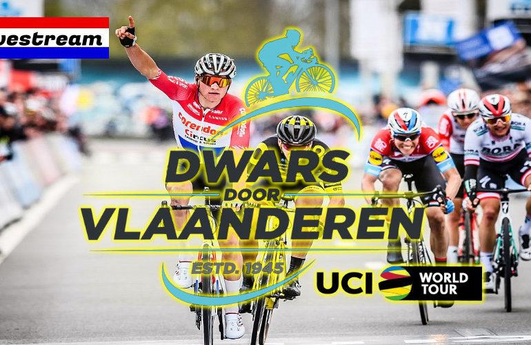 Livestream Dwars door Vlaanderen (mannen)