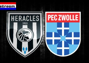 Eredivisie livestream Heracles - PEC Zwolle
