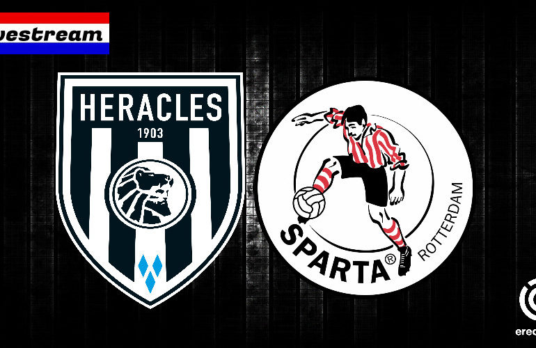 Eredivisie livestream Heracles - Sparta