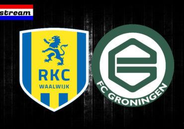 Eredivisie livestream gratis RKC - FC Groningen kijken