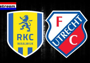 Eredivisie livestream RKC Waalwijk - FC Utrecht