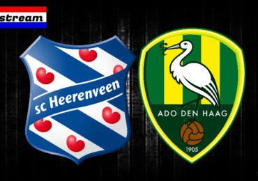 Eredivisie livestream SC Heerenveen - ADO Den Haag