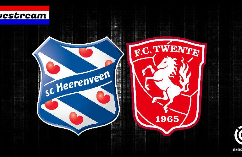 Kijk hier via de gratis livestream SC Heerenveen - FC Twente