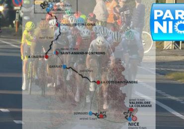 Etappeschema en livestream Parijs-Nice 2021