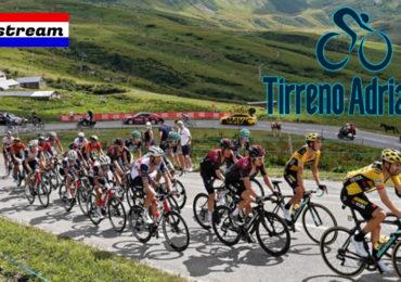 Etappeschema en livestream Tirreno-Adriatico 2021