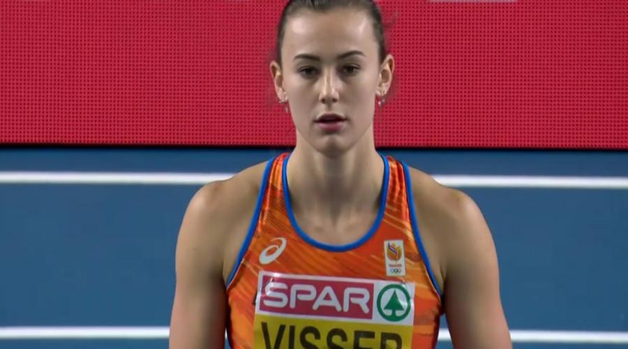 Europese titel voor Nadine Visser op 60 meter horden