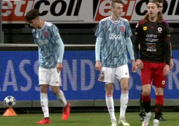 Excelsior wint met ruime cijfers van Jong Ajax (video)