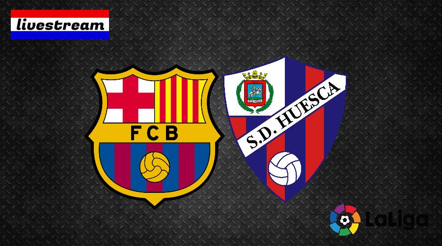 FC Barcelona - Huesca La Liga livestream