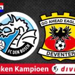 FC Den Bosch - Go Ahead Eagles kijken via een livestream