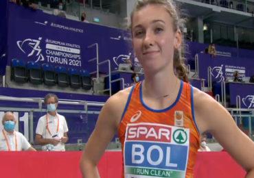 Bol loopt Nederlands record op 400 meter horden