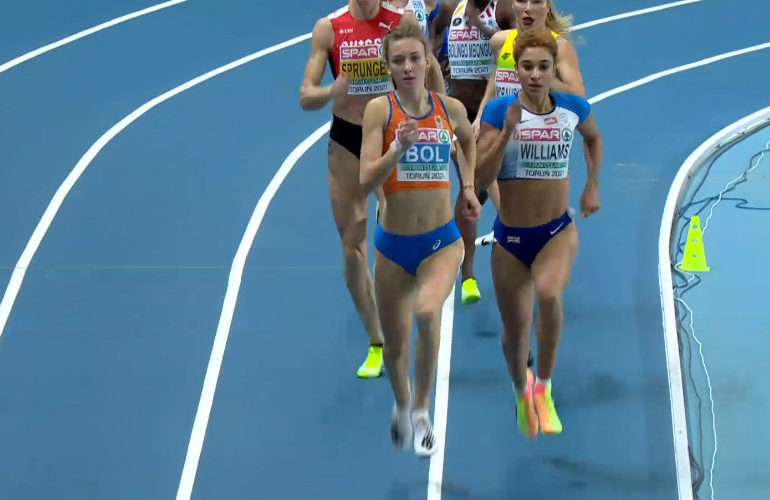 Femke Bol en Lieke Klaver naar finale 400 meter